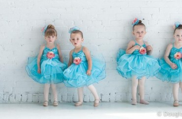 Young Dancers waiting for group photo